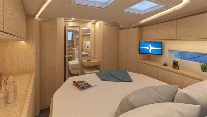 Bavaria C50 interior - photo © Bavaria Yachts