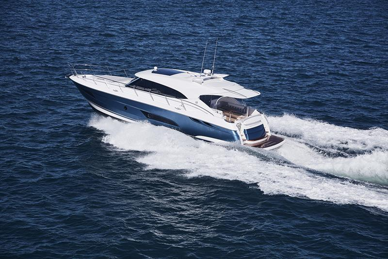 The Riviera 5400 Sport Yacht is an inspiring evolution of the single-level living designs for which the Sports Yachts are highly acclaimed - photo © Riviera Australia