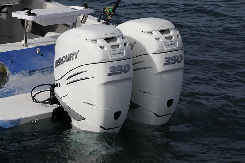 Twin 350 Verados - photo © Mercury Marine
