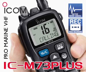 ICOM UK M73PLUS