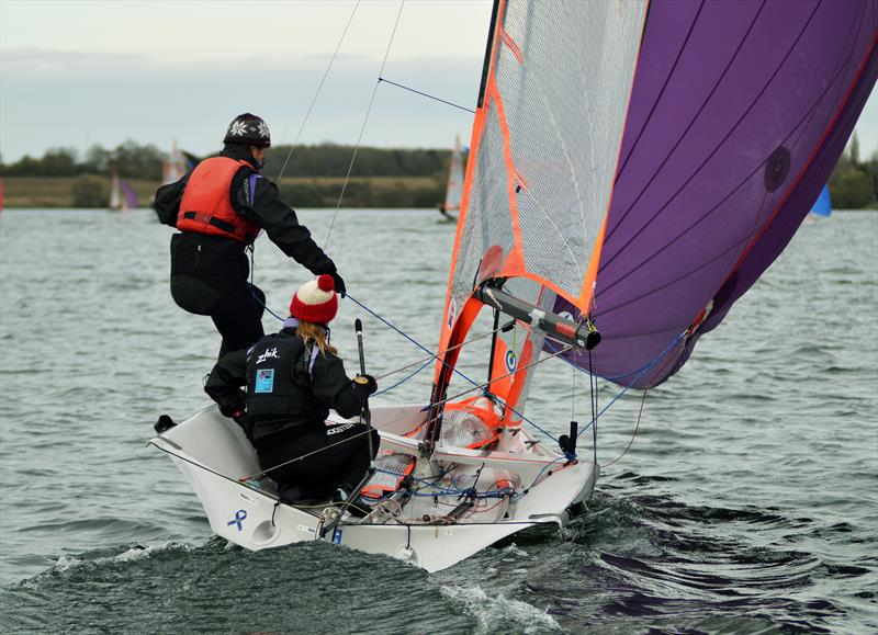 29er class during the Ovington Inlands at Grafham Water