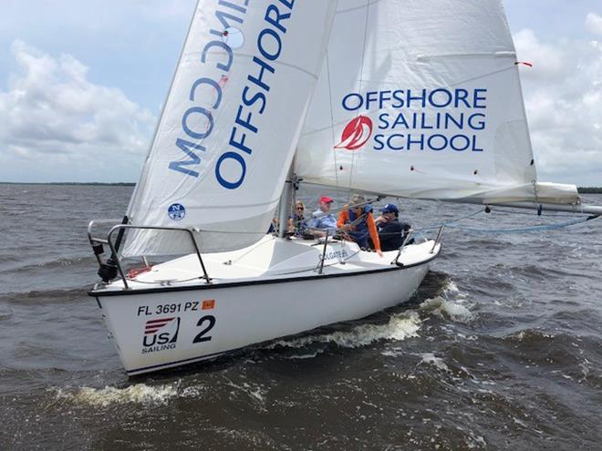 Colgate 26 Sailboats - photo © Offshore Sailing School