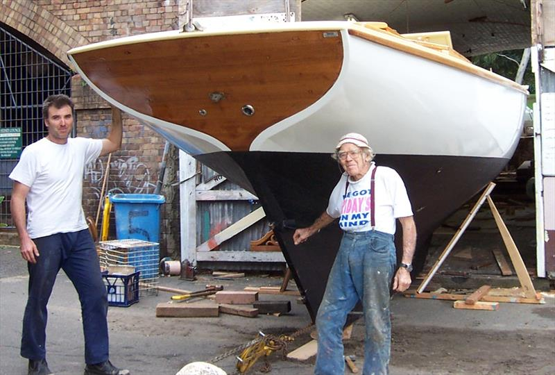 Heritage at Lavender Bay for the Gordons. - photo © Gordon Wooden Boats