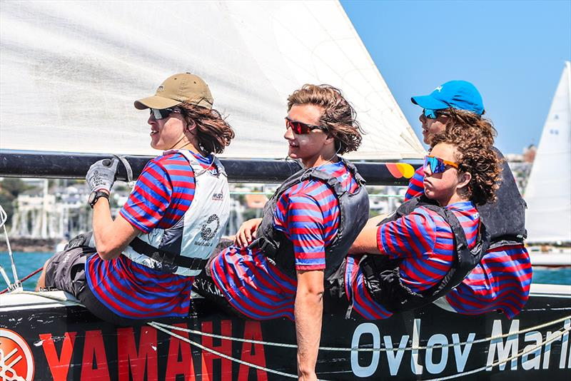 Rosmini College - Harken National Secondary Schools Keelboat Championships - Waitemata Harbour - 2020 - photo © Andrew Delves