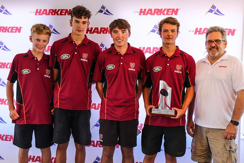 Kings College - Harken National Secondary Schools Keelboat Championships - Waitemata Harbour - 2020 - photo © Andrew Delves