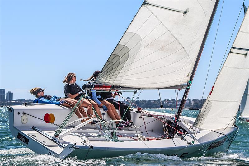 Baradene College - Harken National Secondary Schools Keelboat Championships - Waitemata Harbour - 2020 - photo © Andrew Delves