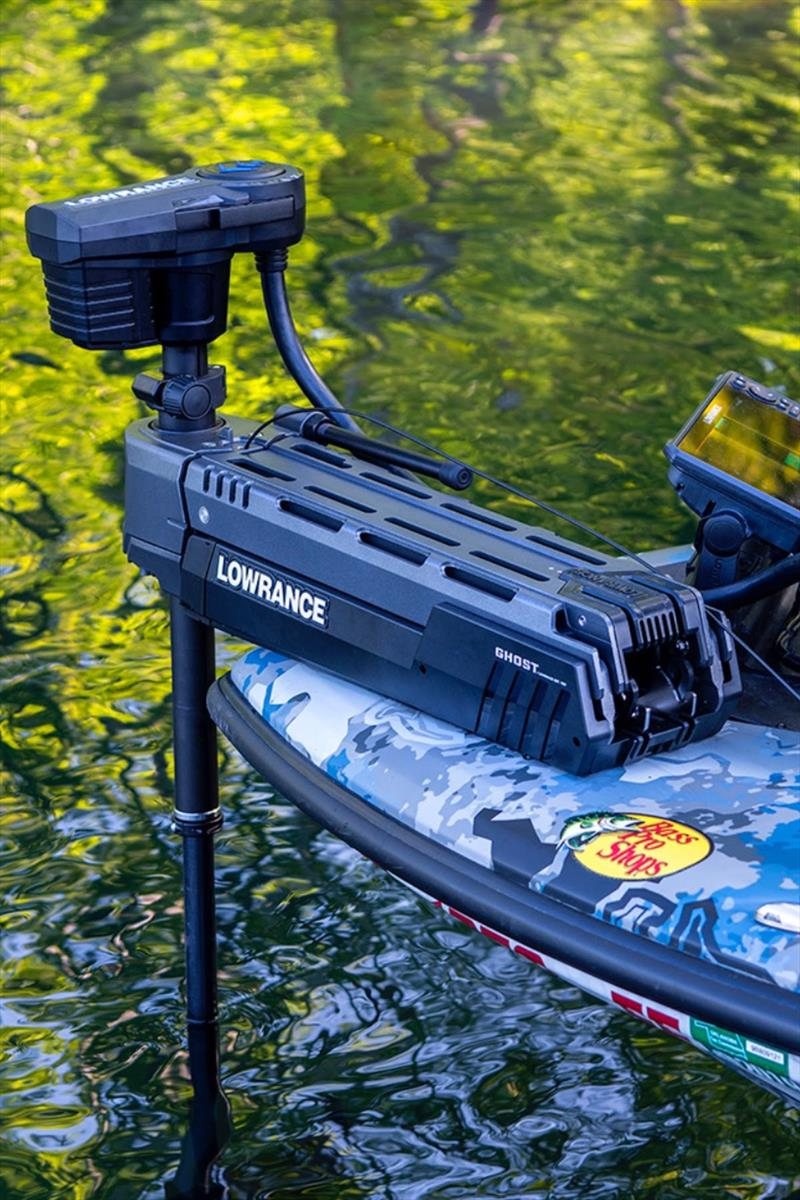 Lowrance Ghost Trolling Motor - photo © Andrew Golden