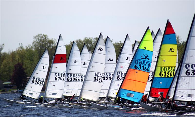 Hobie Cat 14 North American Championship at Oneida Shores County Park