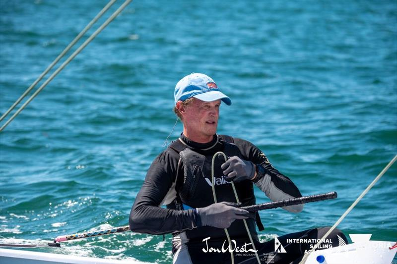 Brett Beyer was the stand-out performer at the Oceania and Australian Laser Masters Championship - photo © Jon West Photography