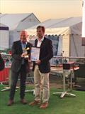 Spirit Yachts MD Nigel Stuart (right) with Mike Golding OBE