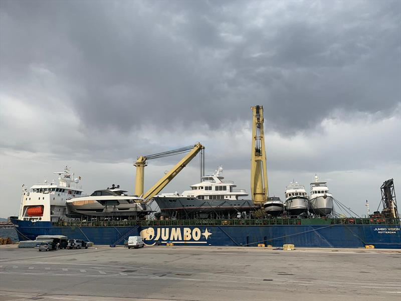 Jumbo Vision delivers 5 cargoes for multiple USA customers photo copyright Jumbo Maritime taken at  and featuring the Marine Industry class