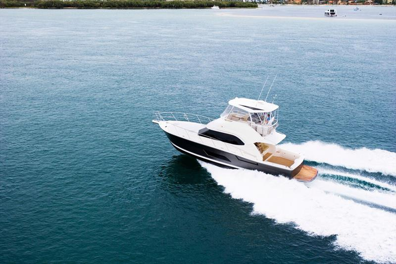 Supremely seaworthy Riviera 43 Open Flybridge - photo © Riviera Studio