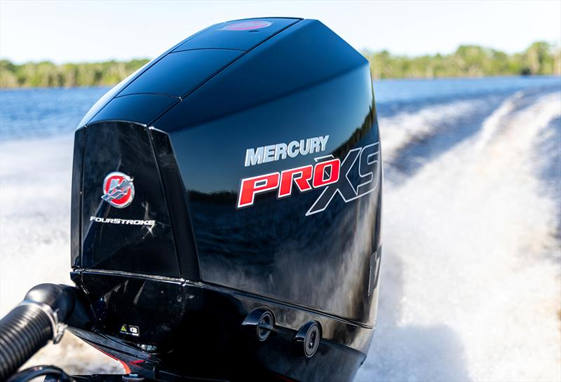 New V-8 and V-6 engines for Mercury's powerful Pro XS range