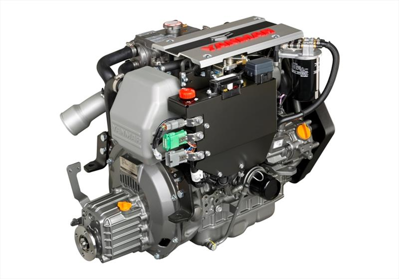 Yanmar 3JH40 common rail inboard marine diesel engine - photo © Yanmar Marine International
