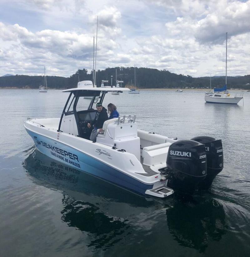 Haines Signature 788SF with Seakeeper 2 photo copyright Twin Disc taken at  and featuring the Marine Industry class