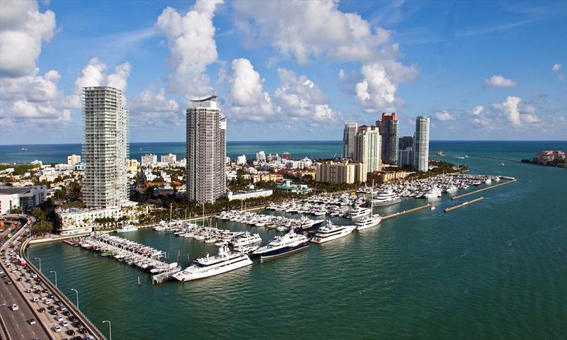 Miami Beach Marina in Miami photo copyright Andrew Golden taken at  and featuring the Marine Industry class