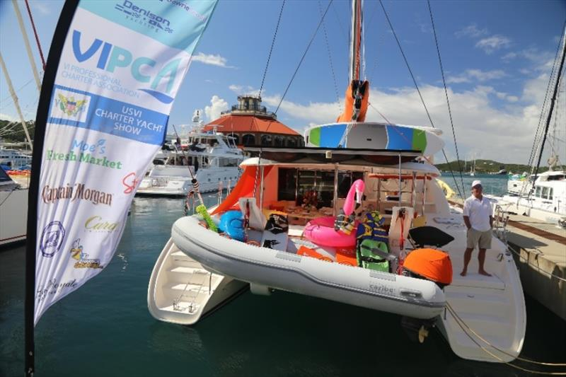 USVI Charter Yacht Show photo copyright VIPCA taken at  and featuring the Marine Industry class