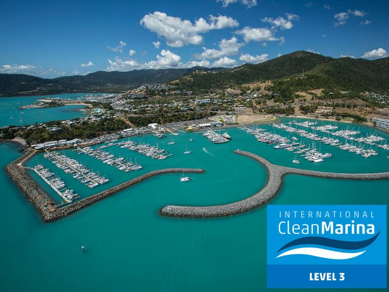Abell Point Marina - Clean Marina Level 3 photo copyright Joscelyn O'Keefe taken at  and featuring the Marine Industry class
