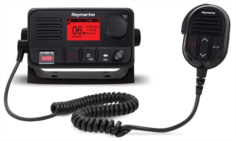 Raymarine's Ray53 radio photo copyright Raymarine taken at  and featuring the Marine Industry class