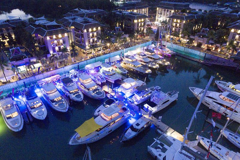 Royal Phuket Marina. Thailand Yacht Show & RendezVous 2018 photo copyright Pozeidon2017 taken at  and featuring the Marine Industry class