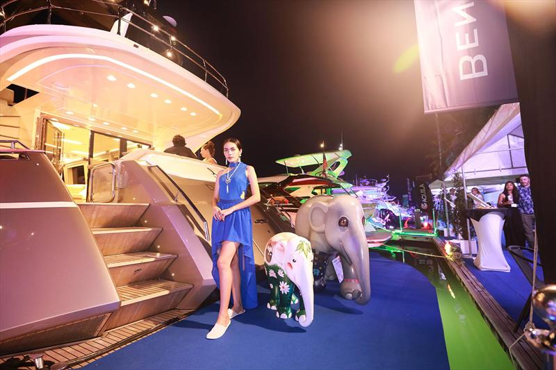 Cue the elephants (we're in Thailand)! Thailand Yacht Show & RendezVous 2018 photo copyright Pozeidon2017 taken at  and featuring the Marine Industry class