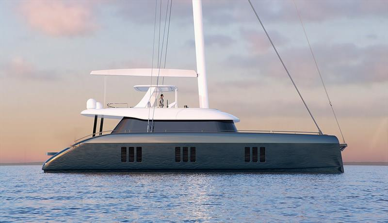 The Sunreef 70 photo copyright Vicsail taken at  and featuring the Marine Industry class