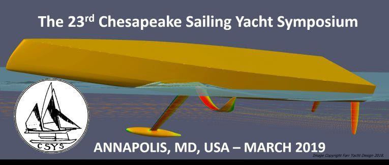 23rd Chesapeake Sailing Yacht Symposium photo copyright Sailing Yacht Research Foundation taken at  and featuring the Marine Industry class