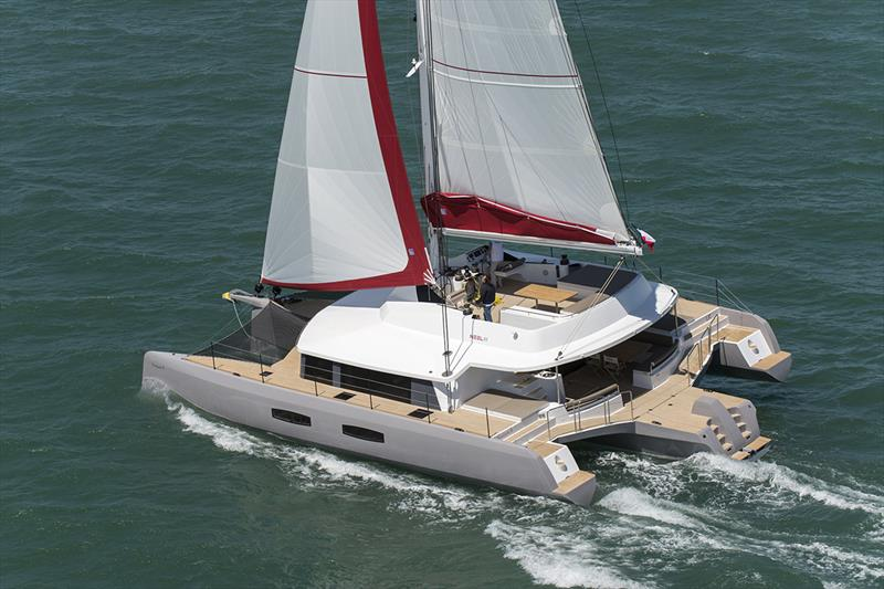 NEEL 47 trimaran photo copyright Olivier Blanchet taken at  and featuring the Marine Industry class