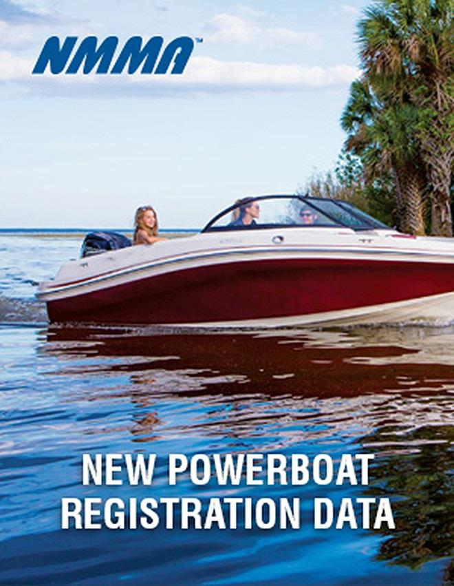 NMMA New Powerboat Registration Data photo copyright National Marine Manufacturers Association taken at  and featuring the Marine Industry class