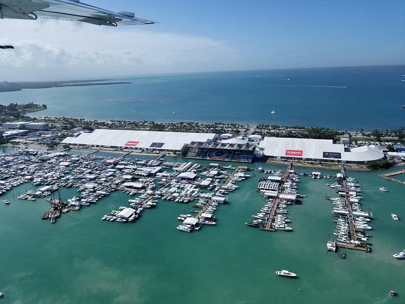 2019 Miami Boat Show photo copyright National Marine Manufacturers Association taken at  and featuring the Marine Industry class