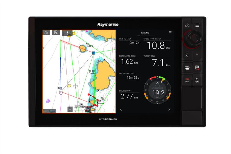 Raymarine's new LightHouse 3 Annapolis V3.9 Software update revealed photo copyright Australia Sales taken at  and featuring the Marine Industry class
