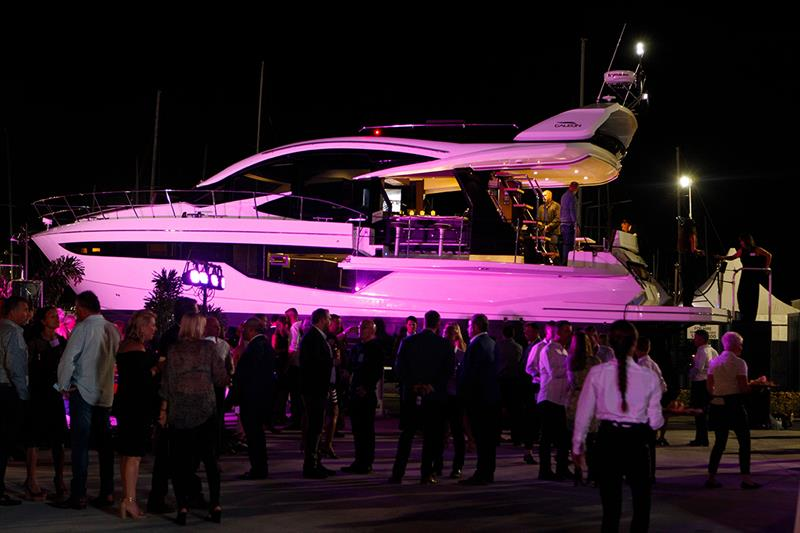 Galeon Yachts launch photo copyright Alexander Marine Australia taken at  and featuring the Marine Industry class