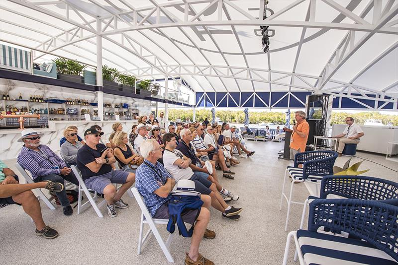 The Riviera Festival of Boating featured over 30 individual boating education and inspirational workshops and seminars. photo copyright Riviera Studio taken at  and featuring the Marine Industry class