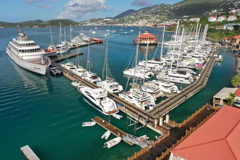 2018 USVI Charter Yacht Show at IGY's Yacht Haven Grande, St. Thomas. - photo © Phil Blake