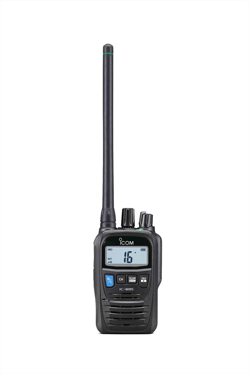 Icom launches the IC-M85E in Australia photo copyright Icom taken at  and featuring the Marine Industry class
