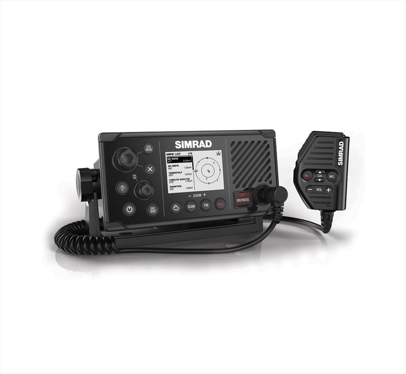 Simrad RS40-B VHF Radio with AIS photo copyright Laura Tolmay taken at  and featuring the Marine Industry class