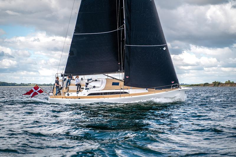 X-Yachts  X4° - Photo from test sail, 3rd of July 2019 photo copyright Mikkel Groth taken at  and featuring the Marine Industry class