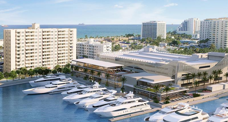 Suntex moves forward with redevelopment of Las Olas Marina - photo © Andrew Golden