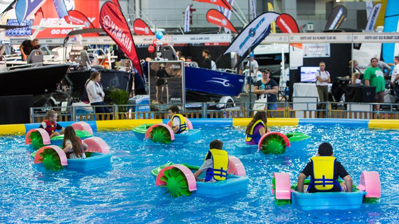 Brisbane Boat Show - Bumper boats - photo © Photographer at Large