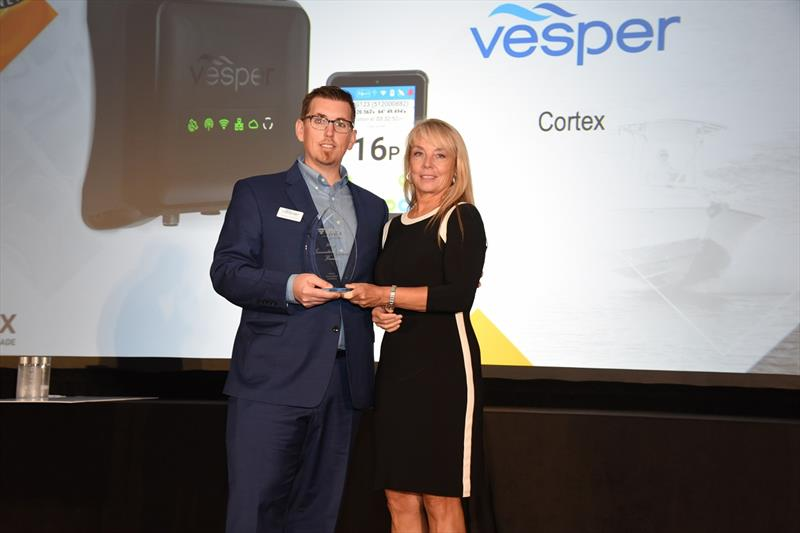 Vesper Marine receives Innovation Award for Cortex - photo © Andrew Golden