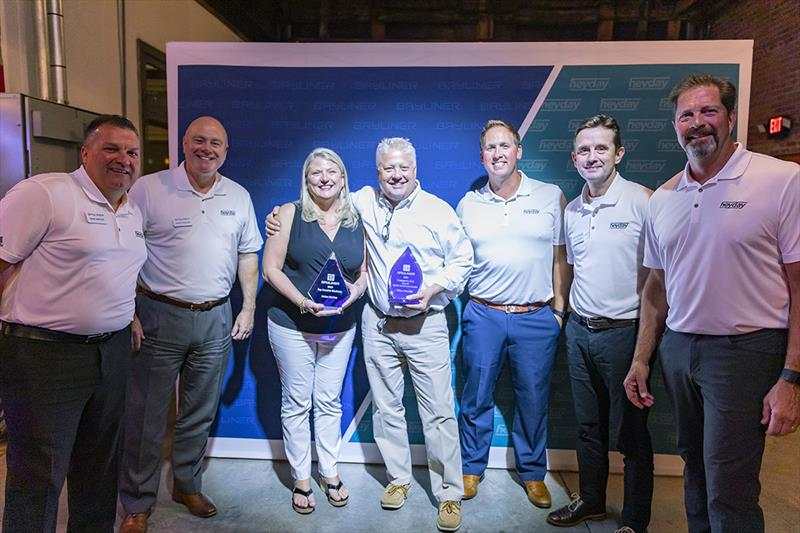 Union Marine recognized at the Annual Bayliner Dealer Meeting - photo © Bayliner Boats