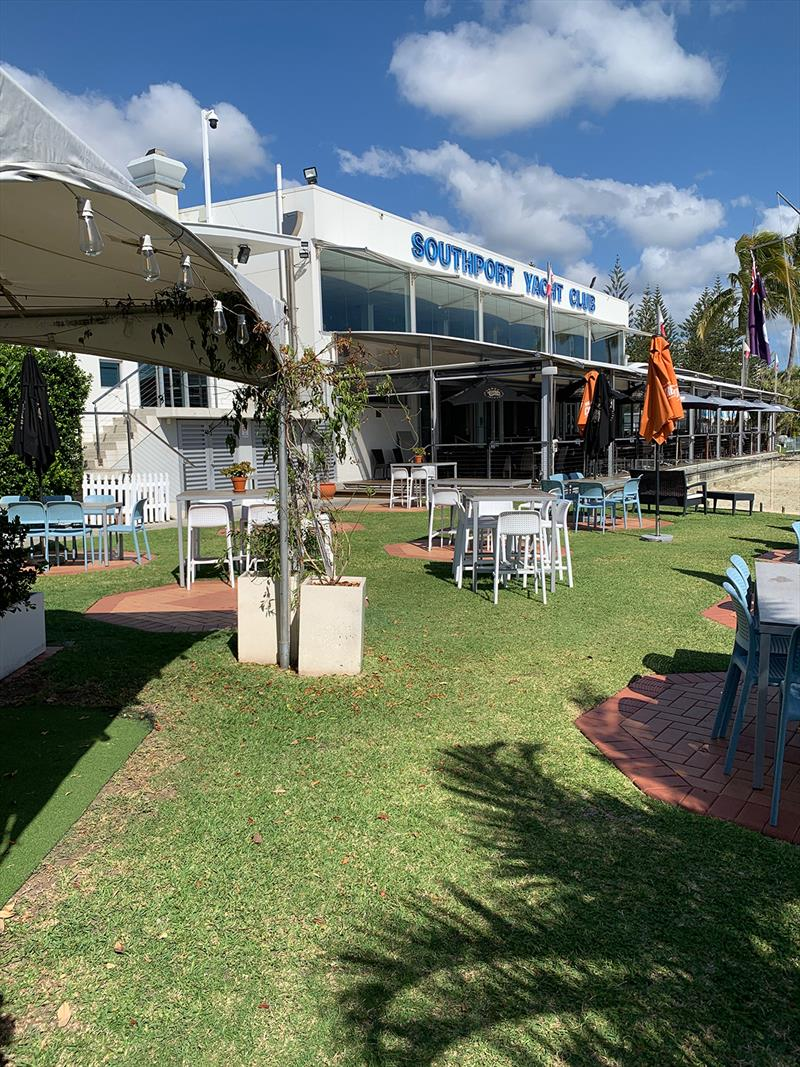 Southport Yacht Club renovations & refurbishments - photo © Virginia Riddle-Cross