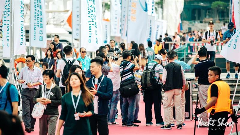 Macau Yacht Show 2019: plenty to explore at Fisherman's Wharf photo copyright Macau Yacht Show taken at  and featuring the Marine Industry class