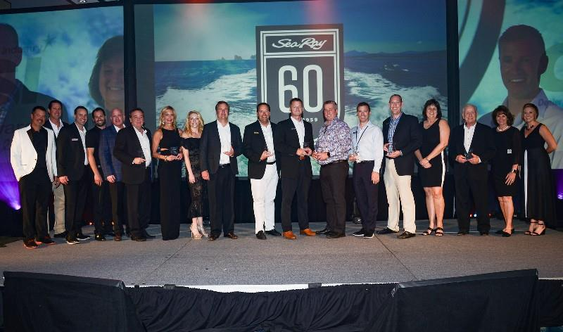 Sea Ray® celebrates 60th anniversary dealer meeting at Horseshoe Bay resort in Texas - photo © Sea Ray