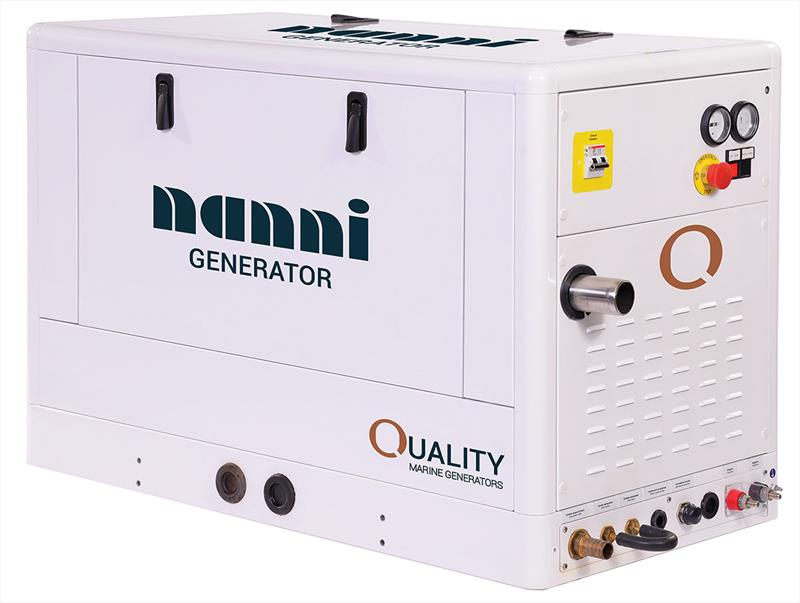 Nanni have a huge range of Diesel gensets photo copyright Nanni taken at