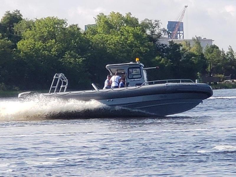 US Navy Tests on Cox Powertrain's CXO300 Diesel Outboards - photo © Saltwater Stone