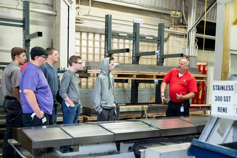 General Tool Company welcomed students from their area with a plant tour and discussions about the technical and non-technical jobs available in manufacturing.  - photo © Manufacturing Day