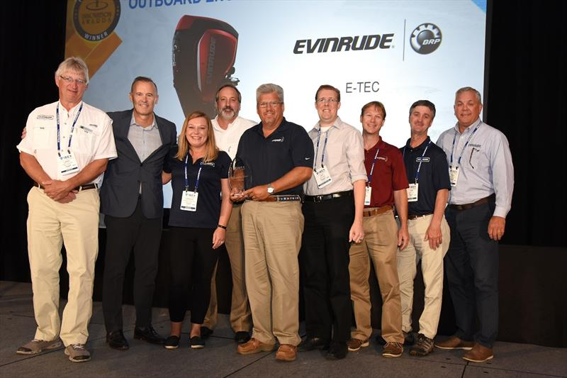 Evinrude recognized with industry award for product innovation - photo © Tacy Briggs-Troncoso