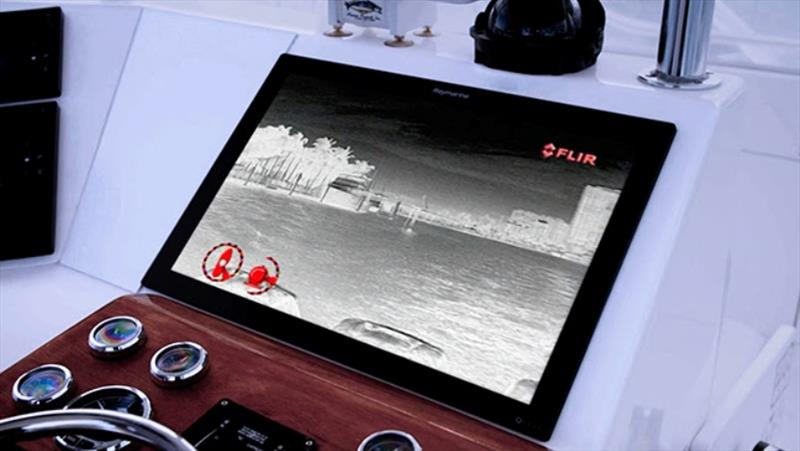 FLIR thermal cameras - photo © Raymarine