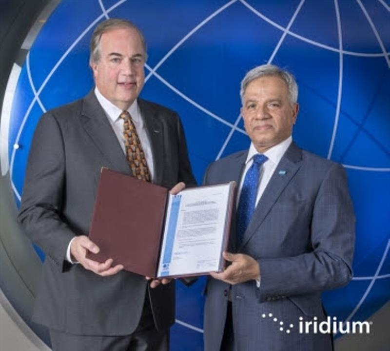 Iridium is now formally authorized to provide GMDSS Service - photo © Iridium